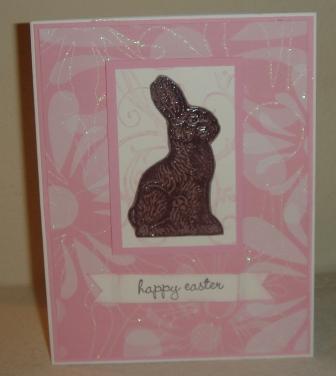 Chocolate bunny 002