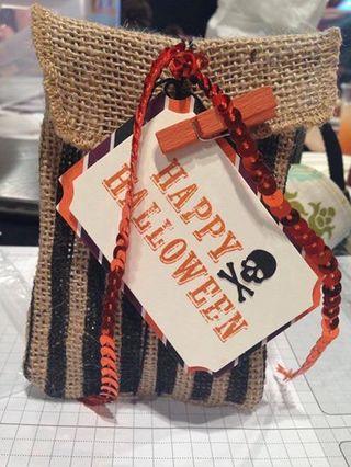 Paper pumpkin sept
